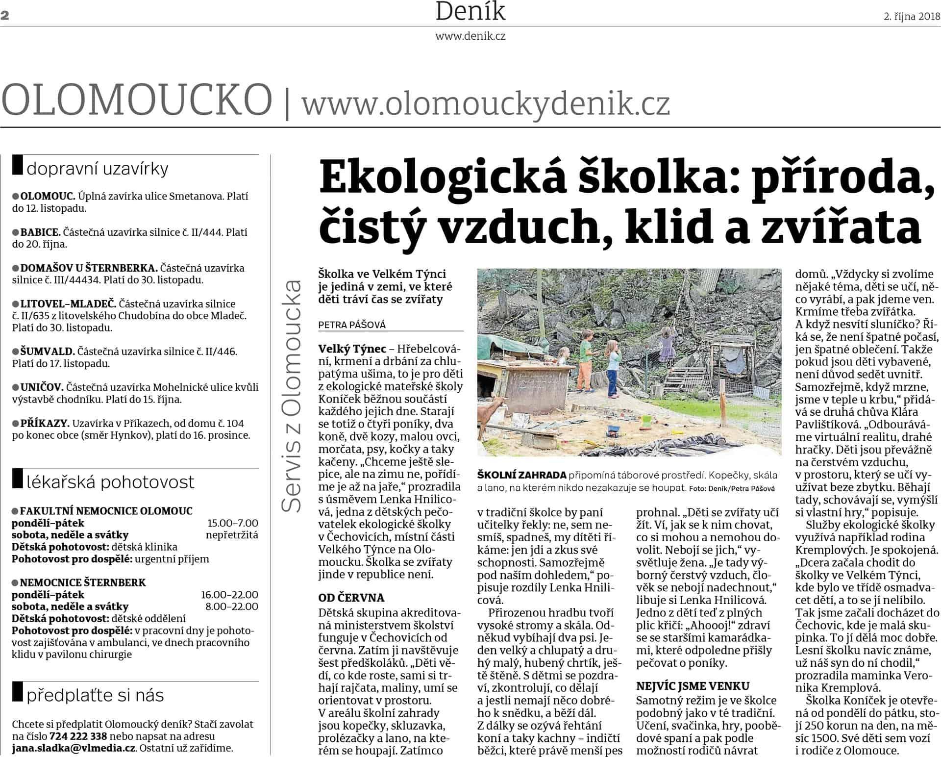Olomoucký deník